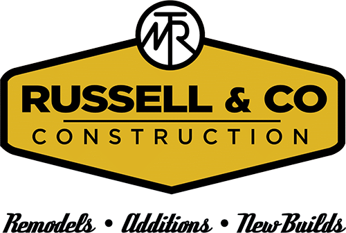 Russell & Co. Construction Logo